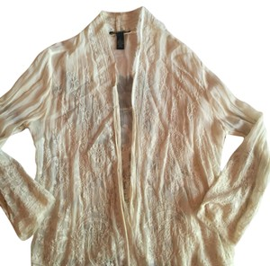 Lucky Brand Top Beige cream