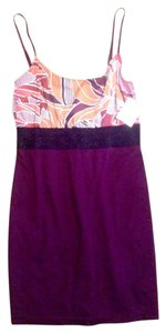 Free People short dress Plum Adjustable Straps Lace Accent on Tradesy