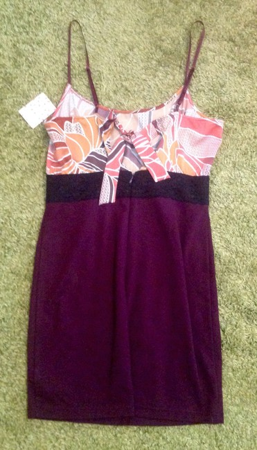 Free People short dress Plum Adjustable Straps Lace Accent on Tradesy Image 5