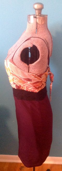 Free People short dress Plum Adjustable Straps Lace Accent on Tradesy Image 7