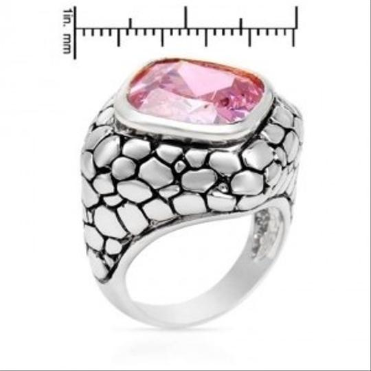 Other Stunning Brand New 14CTW PINK Cubic Zirconia Cocktail Ring