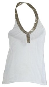 Pegah Anvarian white Halter Top