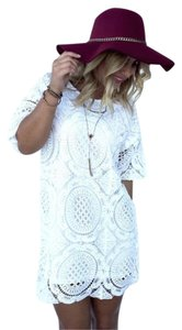 Dainty Hooligan short dress White on Tradesy