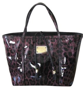 Dolce&Gabbana Dolce & Gabbana Miss Escape Animal Leopard Tote in Pink Leopard/Animal Print