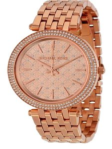 Michael Kors MICHAEL KORS Darcy Rose Dial Rose Gold-tone Ladies Watch MK3399