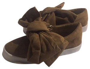 Bow Shoes Beige Athletic