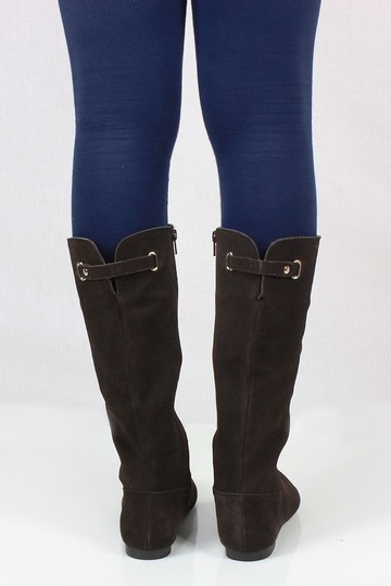Style & Co Brown Suede Boots