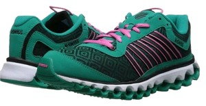 K-Swiss K Swiss Pink and green, and black Athletic