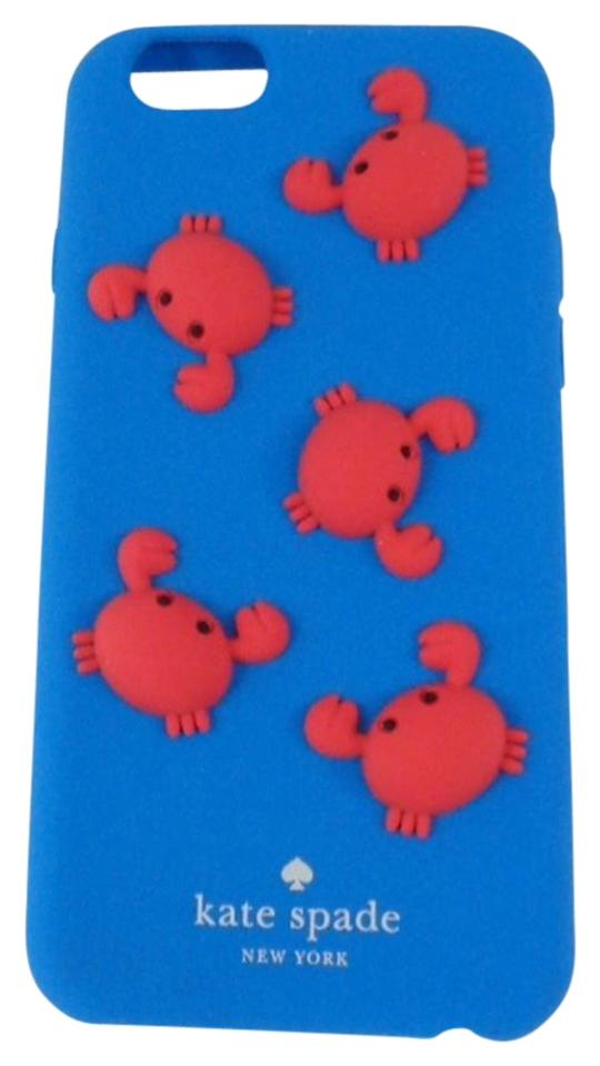 pretty nice 940e8 f0498 Kate Spade Blue/Red Wiru0411 Crabs Silicone Cell Phone Cover Case For  Iphone 6 & 6s Tech Accessory 15% off retail