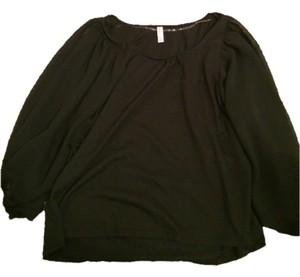 Xhilaration Top black