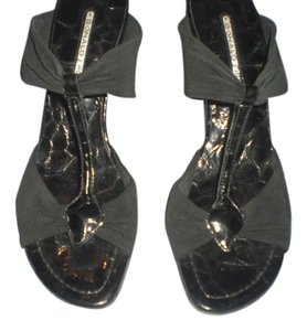 Donald J. Pliner Leather Black Sandals