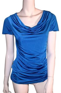 Carmen Marc Valvo Top blue