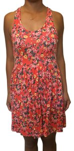 Kimchi Blue short dress Pink floral on Tradesy