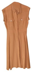 Madewell Silk Safari Pockets Dress