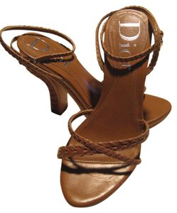 Dior Western Country tan Platforms
