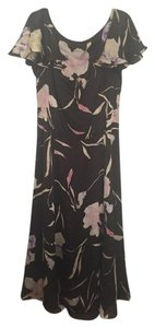 Ralph Lauren Silk Floral Long Dress