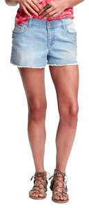 Old Navy Cut Off Denim Cut Off Shorts Blue