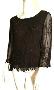 J Kara Top Black