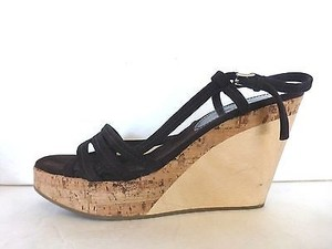 Jil Sander Wedges Brown Platforms