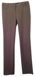 Express Columnist Professional Work Gray Brown Boot Cut Pants Brown Gray