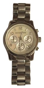 Michael Kors Silver Ladies Chronograph Watch