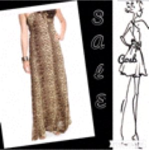Leopard Maxi Dress by Other