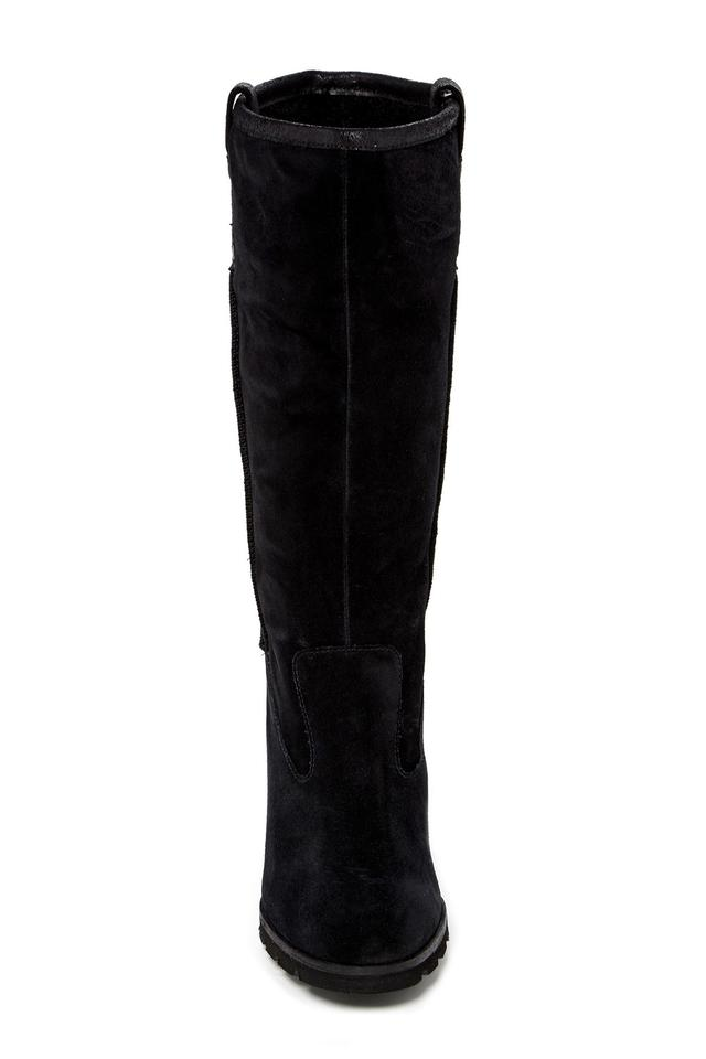 ced56caed79 UGG Australia Black Soleil Genuine Shearling/Suedetall Boots/Booties Size  US 9 Regular (M, B) 49% off retail