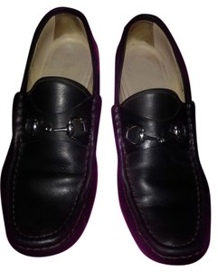 01e5f0b5e9b Gucci Leather Silver Hardware Formal. Gucci Horsebit Black Loafers 1953  Style Flat 7.5b Classic Italy Formal Shoes Size US 7.5 Regular ...