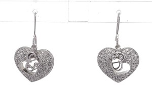 Dior Dior Silver Heart Earrings