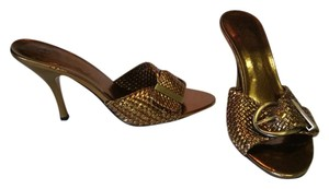 Joey O GOLD Sandals