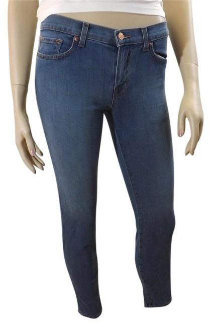 "Item - Blue Light Wash 835 Mid Rise ""Cabo"" Capri/Cropped Jeans Size 26 (2, XS)"