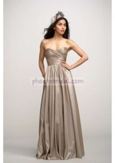 Watters Marine Luminescent Taffeta Buttercup Sweatheart Ball Gown Style #2736 Formal Bridesmaid/Mob Dress Size 4 (S)