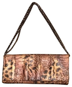 Style & Co Leopard Clutch
