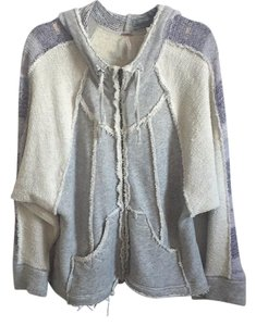 Free People Gray/Purple Jacket