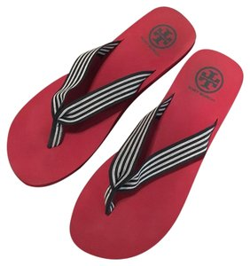 01cb8d7c99d4ee Red Tory Burch Sandals - Up to 90% off at Tradesy