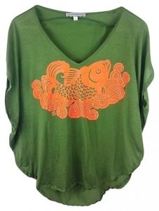 Paul & Joe Sister T Shirt Green