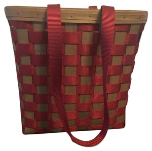 Longaberger Tote in Red