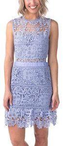 Romeo & Juliet Couture Lace Cutout Party Dress