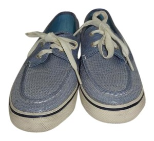 Sperry Blue Boat Sequin BLUE sequin Flats