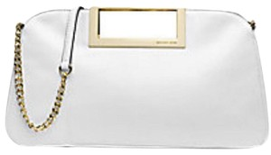 Michael Kors Optic white Clutch