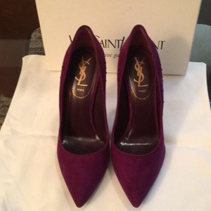 Saint Laurent Amethyste Pumps