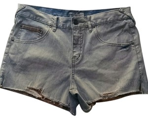 Free People Cut Off Shorts lightwash denim