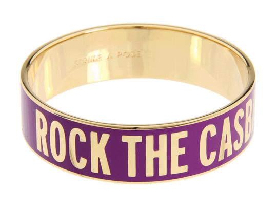 "Kate Spade Brand New with Tags Kate Spade ""Rock the Casbah"" Bangle Bracelet - The Clash on Your Wrist!"