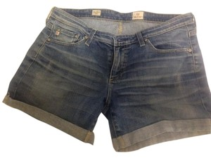 AG Adriano Goldschmied Cuffed Shorts Denim