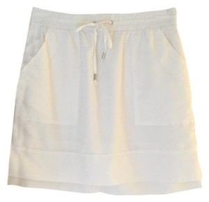 Banana Republic Mini Skirt White
