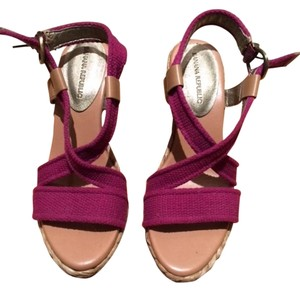 Banana Republic Dark pink Wedges