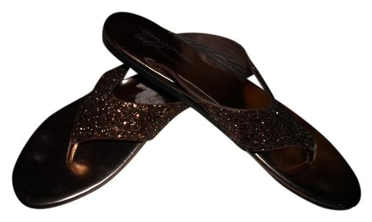 Donald J. Pliner Bronze Sandals