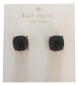 Kate Spade elegant black post earrings