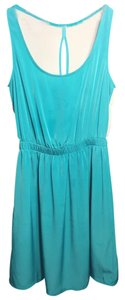 Lush short dress Teal Lace on Tradesy