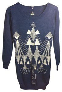 Cheap Monday short dress Blue Wknd Sweater on Tradesy
